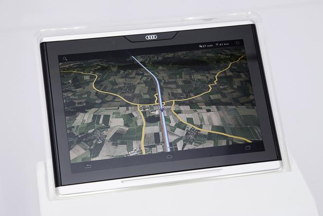 Audi : après les autos et les carburants, la tablette tactile