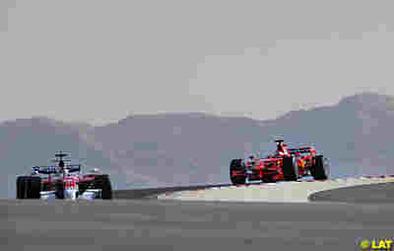 Formule 1 - Test Bahreïn D.2: Raïkkonen toujours, mais avec des soucis
