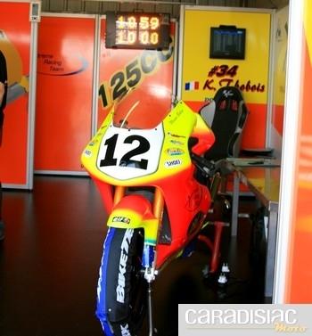 Championnat de France 125cc au Vigeant (86): les essais.