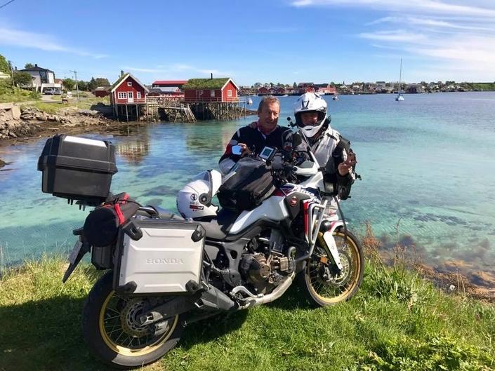 Reportage : Laurent Cochet de Oslo au Cap Nord