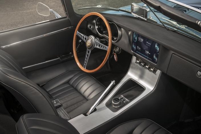 Jaguar ressort la Type E du placard, avec un moteur électrique (Tech Fest 2017)