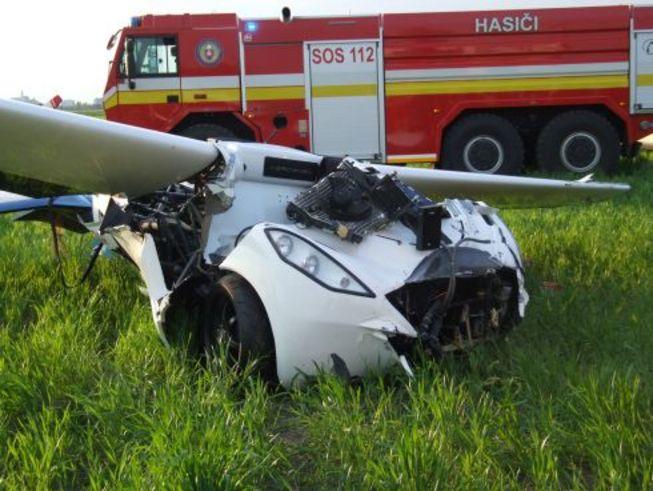 La voiture volante AeroMobil s'écrase lors d'un test