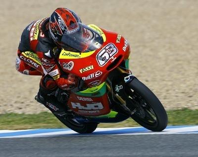 GP125 - Espagne D.2: Mike n'a travaillé que pour la course