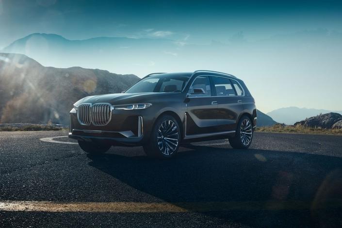 Salon de Francfort 2017 - BMW X7 Concept: XXL
