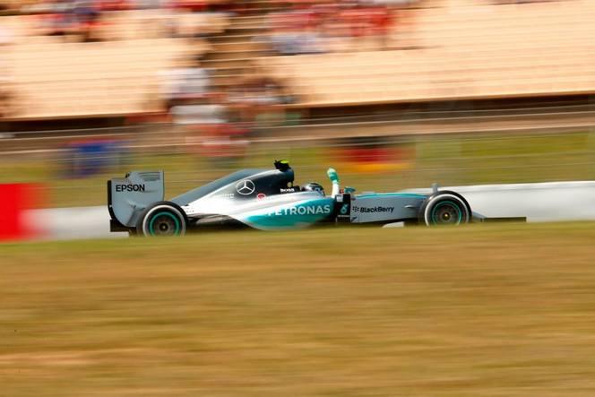 F1 - GP d'Espagne : Rosberg enfin dominateur