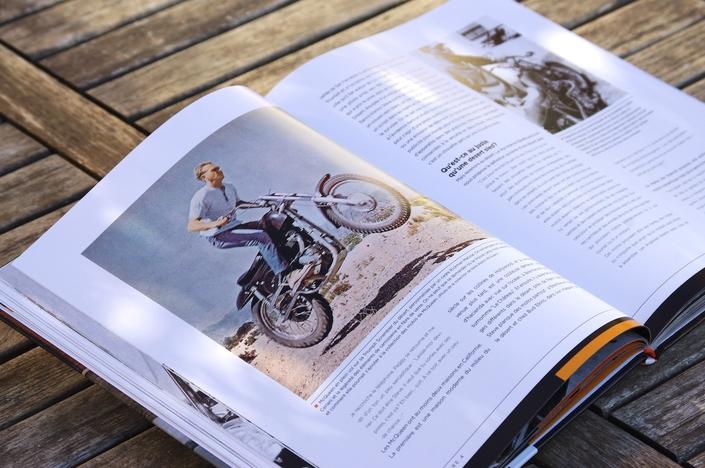 """Lu pour vous: """"McQueen et ses motos. En route avec le plus cool de tous"""" de Matt Stone"""