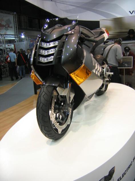 La Vectrix Electric Superbike, une moto 100 % électrique qui a du caractère !