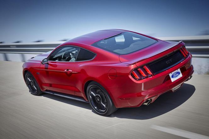 La Ford Mustang reçoit déjà quelques modifications