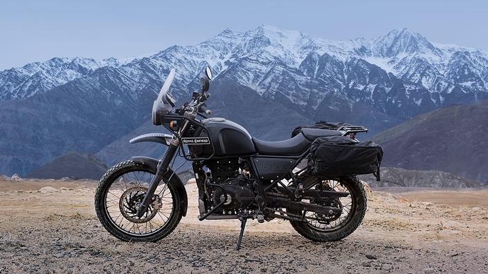 Royal Enfield présent à l'Alpes Aventures Motofestival