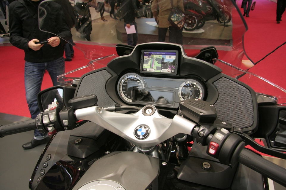 Vidéo en direct du salon de la moto : BMW R 1200 RT