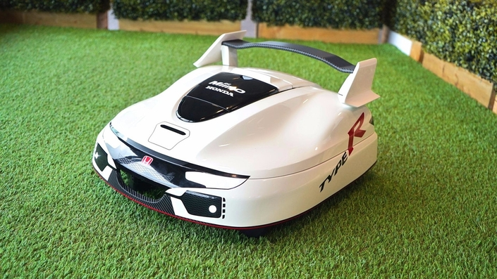 Honda, c'est aussi des tondeuses à gazon... Type R