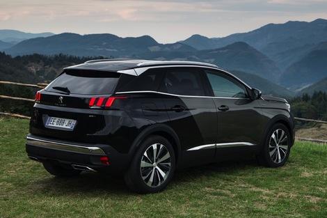 Pour un 3008 4x4, il faudra attendre l'hybride en 2019.
