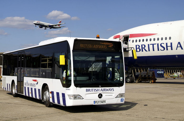 British Airways a choisi les autobus Citaro Mercedes Benz dotés de la technologie BlueTec® Euro 5