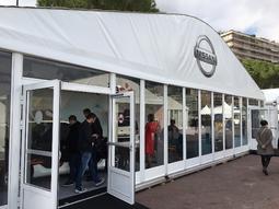 Nissan : Leaf attitude - Vidéo en direct du salon de Monaco 2017