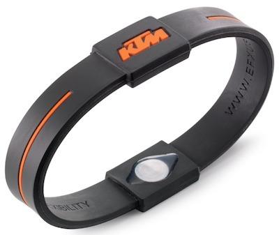 KTM: entre décapsuleur et bracelet survitaminé.