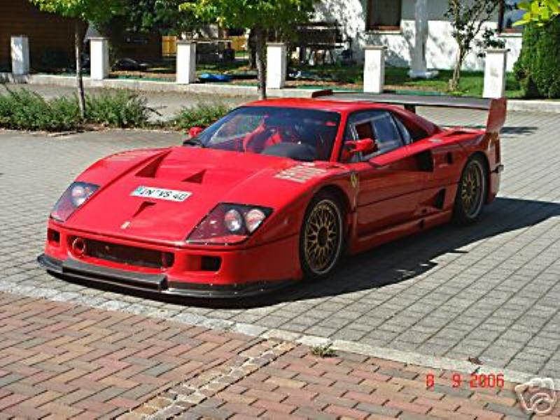 une ferrari f40 gte by michelotto vendre sur e bay. Black Bedroom Furniture Sets. Home Design Ideas