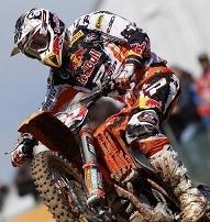 Motocross mondial :  MX 1, les pilotes KTM contrôlent le championnat