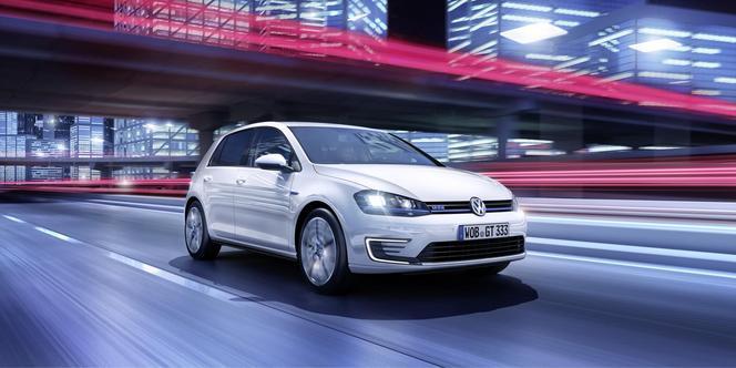Toutes les nouveautés de Genève 2014 : VW Golf GTE, l'hybride sportive