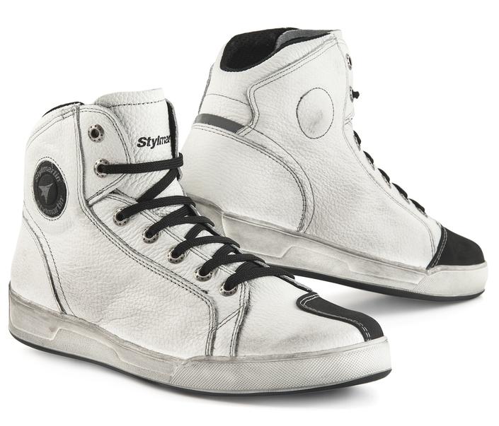 Stylmartin Panama : du blanc pour des sneakers élégantes