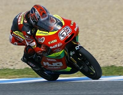 "GP125 - Espagne Di Meglio: ""La moto ne voulait pas tourner"""