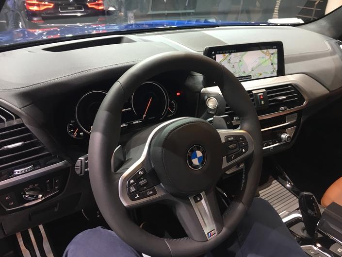 BMW X3 : les premières images en live du Salon de Francfort 2017