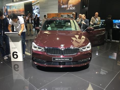 BMW Série 6 GT : les premières images en live du Salon de Francfort 2017
