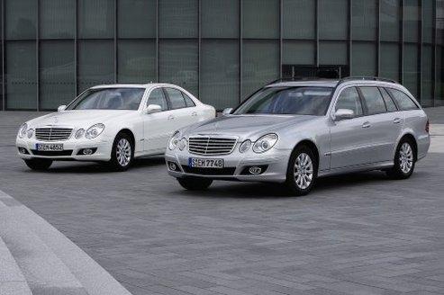 Programme Road to the Future de Mercedes  : gros plan sur les Classe E CGI et Bluetec
