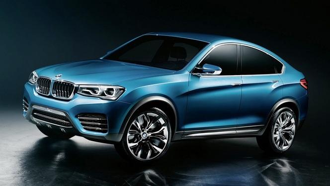 Toutes les nouveautés du salon de Genève 2014 - BMW X4 : futur star du X ?