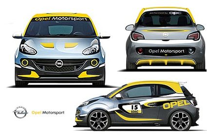 Opel Adam: la version rallye