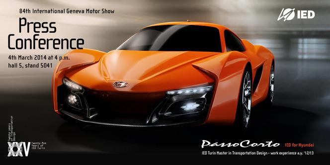 Toutes les nouveautés de Genève 2014 : Hyundai PassoCorto par IED