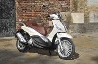 Essai Piaggio New Beverly 125 cm3 : Une esthétique en hausse