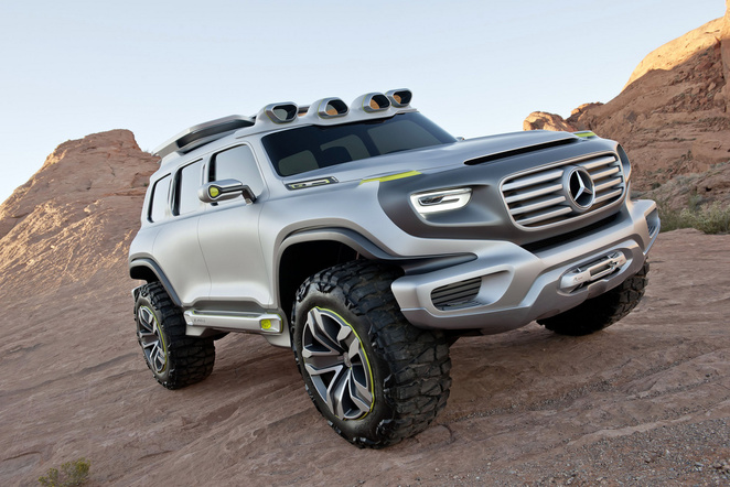 Los Angeles 2012 : Mercedes Ener-G-Force Concept, un Classe G de 2025
