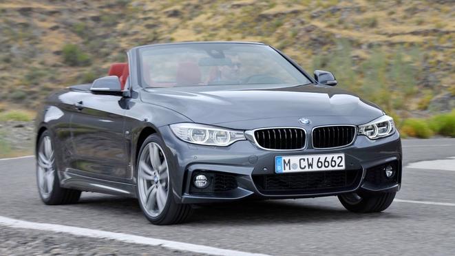 Toutes les nouveautés du salon de Genève 2014 - BMW Série 4 Cabriolet : décoiffant