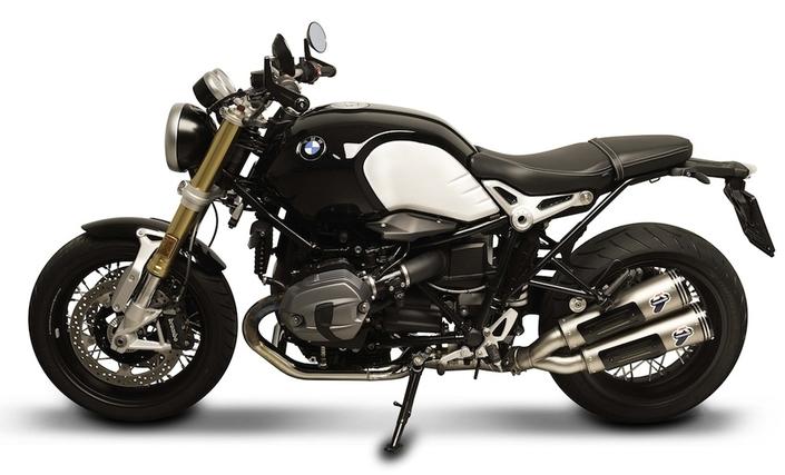 Termignoni: des silencieux avec les embouts taillés dans la masse pour la BMW Nine T