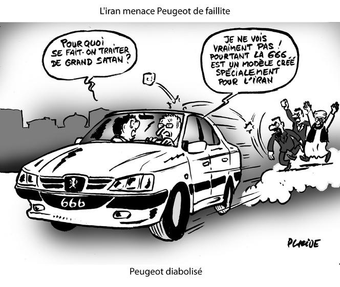 Le dessin du jour – Peugeot va au diable