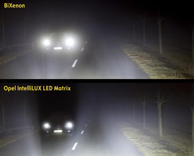 La future Opel Astra, première du segment à adopter l'éclairage matriciel à LED