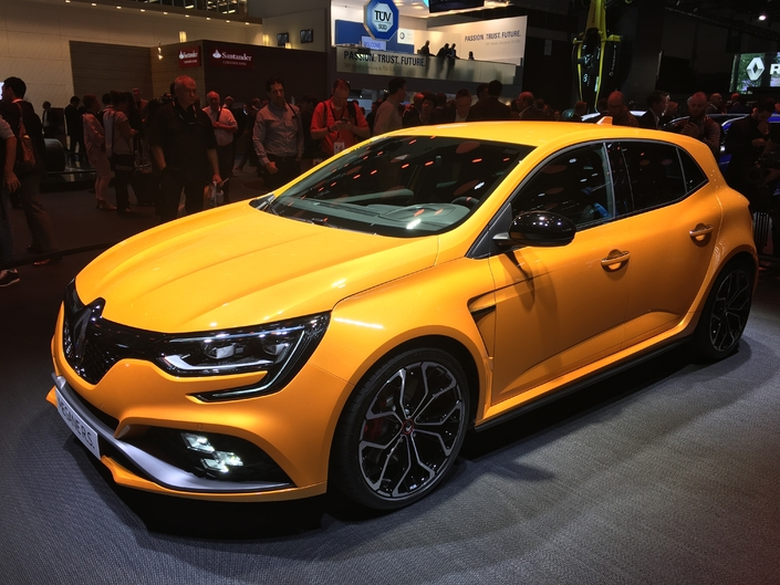 Renault Mégane RS : les premières images en live - Salon de Francfort 2017
