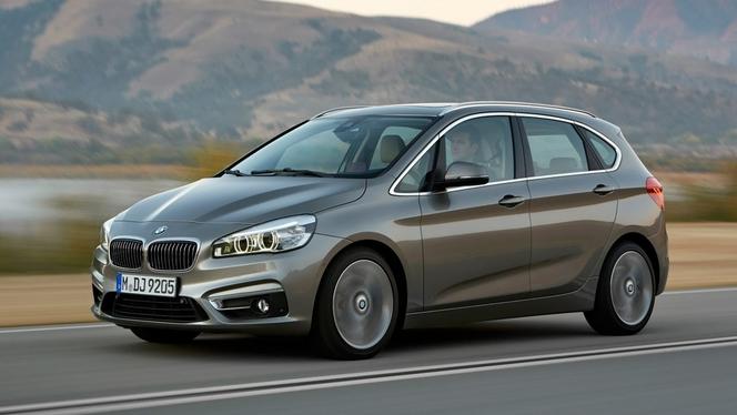 Toutes les nouveautés du salon de Genève 2014 - BMW Série 2 Active Tourer : révolution