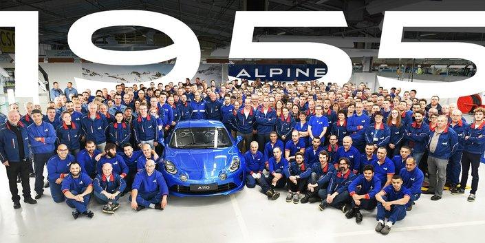 Alpine : fin de la production de l'A110 Première Édition