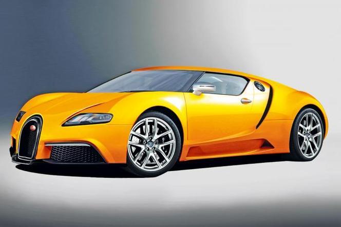 Une autre vision de l'Hyper Bugatti Veyron de 1600 ch