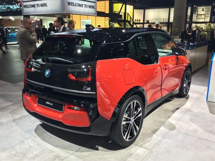 BMW i3 restylée : fun ? Vidéo en direct du salon de Francfort 2017