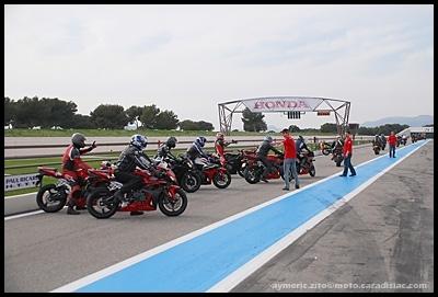 Reportage Honda Days 2008 : week-end VIP au Paul Ricard