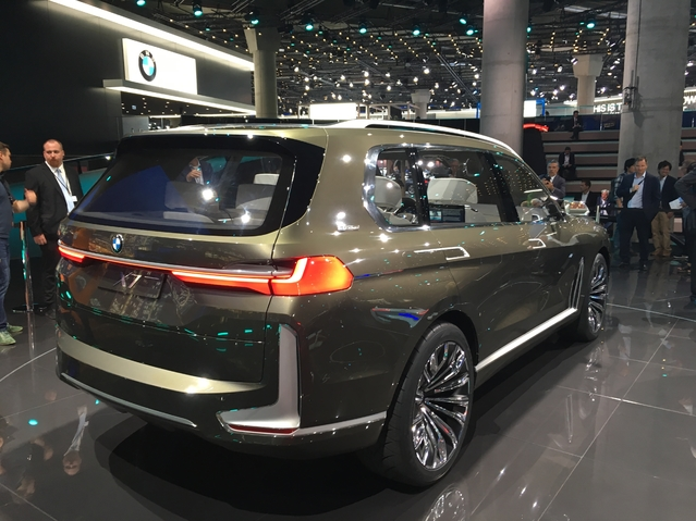 BMW X7 concept : costaud - Vidéo en direct de Francfort 2017