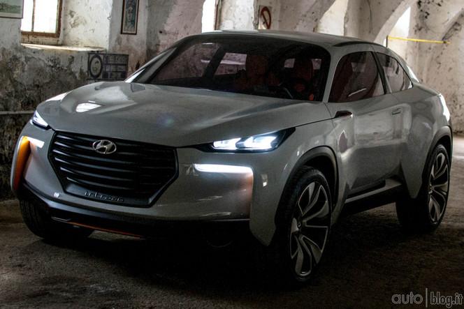 Genève 2014 : le concept Hyundai Intrado se montre
