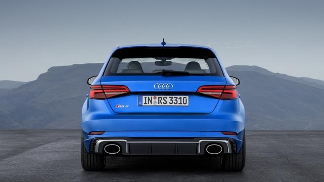 Salon de Genève 2017 : restylage pour l'Audi RS3