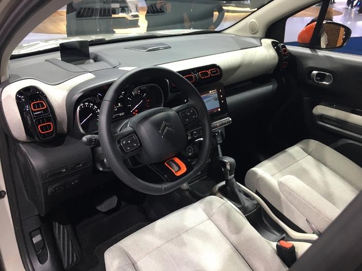 Citroën C3 Aircross : succès annoncé - Vidéo en direct du salon de Francfort 2017