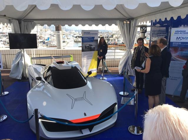 Pininfarina H2 Speed: le sport hydrogéné - Vidéo en direct du salon de Monaco 2017