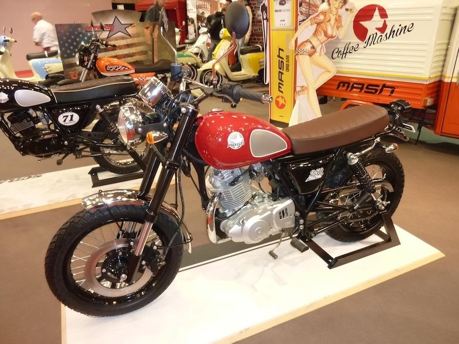 En Direct du Salon de la Moto : Mash 250 ''Two Fifty''