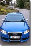 Essai - Audi RS4 :  du bonheur tout simplement