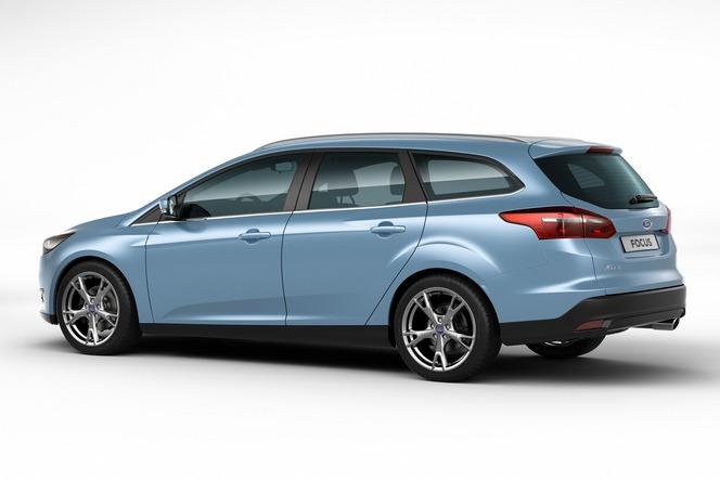 Toutes les nouveautés du salon de Genève 2014 - Ford Focus restylée: avant-première